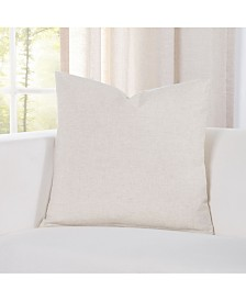 "Siscovers Pacific Sand Linen 20"" Designer Throw Pillow"