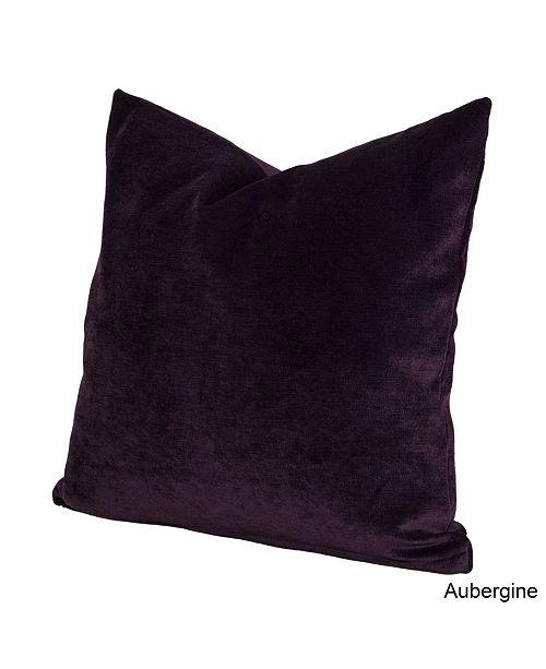 "Siscovers Padma Aubergine 16"" Designer Throw Pillow"