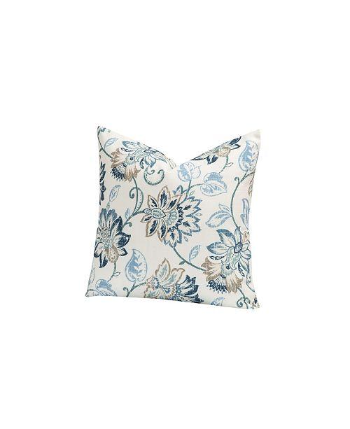 "Siscovers Nantucket 26"" Designer Euro Throw Pillow"