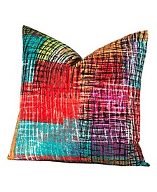 "Etch 16"" Designer Throw Pillow"