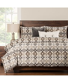 Siscovers Moonstone 6 Piece Cal King High End Duvet Set