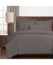 Classic Cotton Haze 6 Piece Queen Luxury Duvet Set