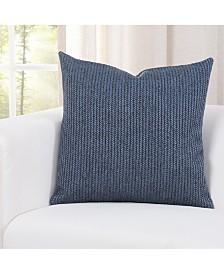 "Siscovers Champion Deep Blue 26"" Designer Euro Throw Pillow"