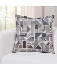 "Siscovers Deco Granite 16"" Designer Throw Pillow"