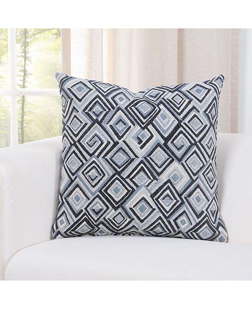 "Siscovers Diamondhead Denim 20"" Designer Throw Pillow"