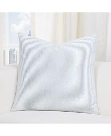 """Siscovers Heritage Blue Farmhouse 16"""" Designer Throw Pillow"""