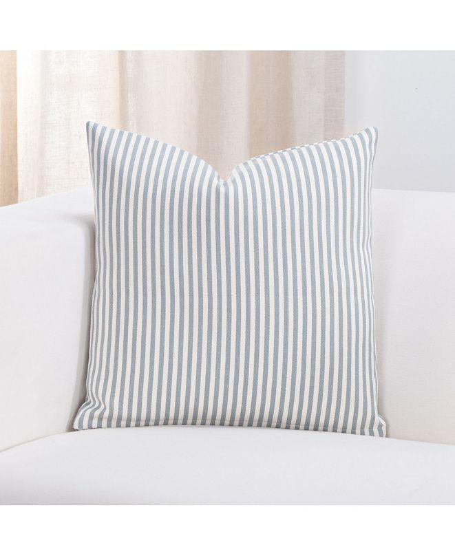 """Revolution Plus Everlast Stripe Juniper 26"""" Designer Euro Throw Pillow"""