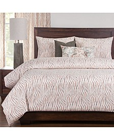 Zorse 6 Piece Full Size Luxury Duvet Set