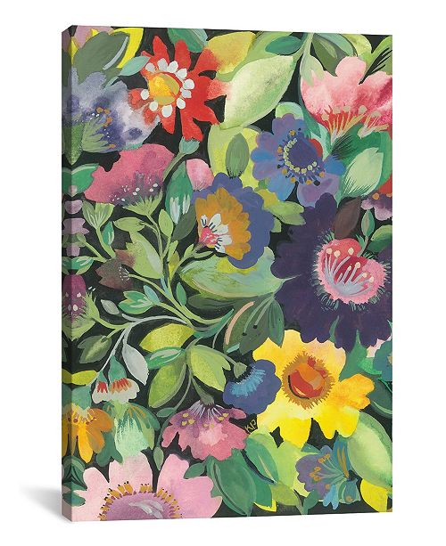 """iCanvas """"Purple Anemone"""" By Kim Parker Gallery-Wrapped Canvas Print - 26"""" x 18"""" x 0.75"""""""