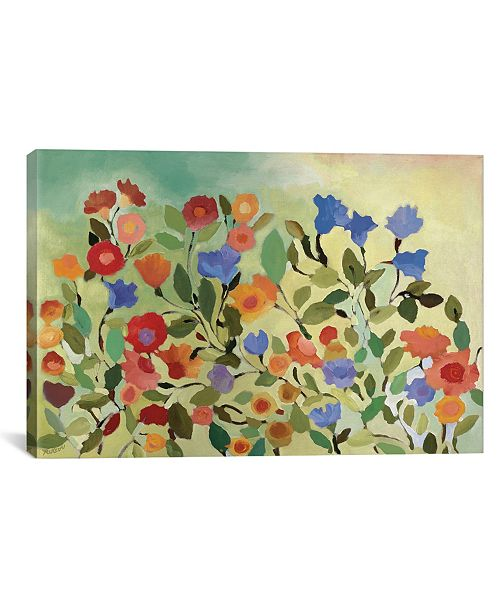 "iCanvas ""Blue Bells"" By Kim Parker Gallery-Wrapped Canvas Print - 26"" x 40"" x 0.75"""