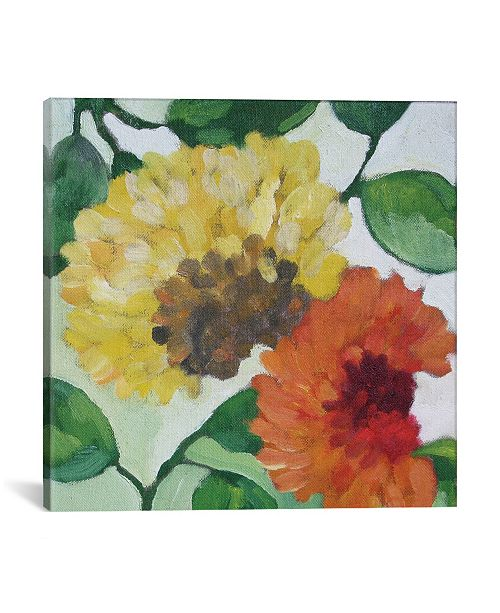 """iCanvas """"Gabrielle'S Garden I"""" By Kim Parker Gallery-Wrapped Canvas Print - 26"""" x 26"""" x 0.75"""""""