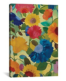 """""""Love Flowers Ii"""" By Kim Parker Gallery-Wrapped Canvas Print - 60"""" x 40"""" x 1.5"""""""