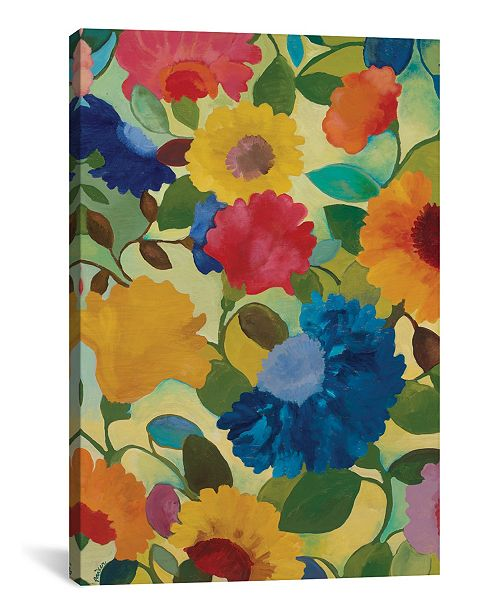 "iCanvas ""Love Flowers Ii"" By Kim Parker Gallery-Wrapped Canvas Print - 60"" x 40"" x 1.5"""