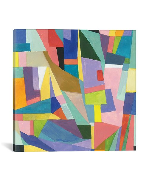 """iCanvas """"Amazonica"""" By Kim Parker Gallery-Wrapped Canvas Print - 26"""" x 26"""" x 0.75"""""""
