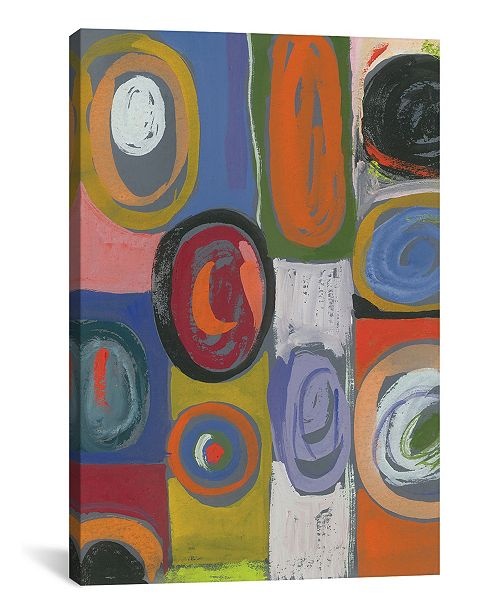 """iCanvas """"Cosmos"""" By Kim Parker Gallery-Wrapped Canvas Print - 18"""" x 12"""" x 0.75"""""""
