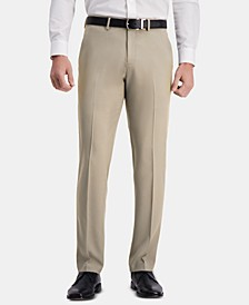 Men's The Active Series Straight-Fit  Performance Stretch Solid Dress Pants
