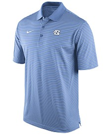 Nike Men's North Carolina Tar Heels Stadium Stripe Polo