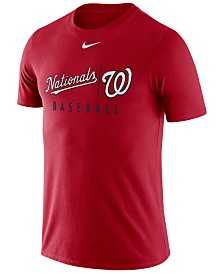 Nike Men's Washington Nationals Dri-FIT Practice T-Shirt