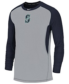 Men's Seattle Mariners Authentic Collection Game Top Pullover