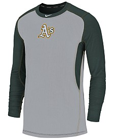Nike Men's Oakland Athletics Authentic Collection Game Top Pullover