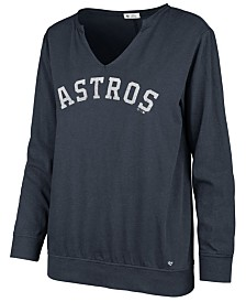 '47 Brand Women's Houston Astros Gamma Long Sleeve T-Shirt