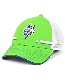 Authentic MLS Headwear Seattle Sounders FC Iconic Trucker Snapback Cap