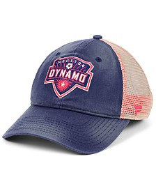 Authentic MLS Headwear Houston Dynamo Americana Trucker Snapback Cap