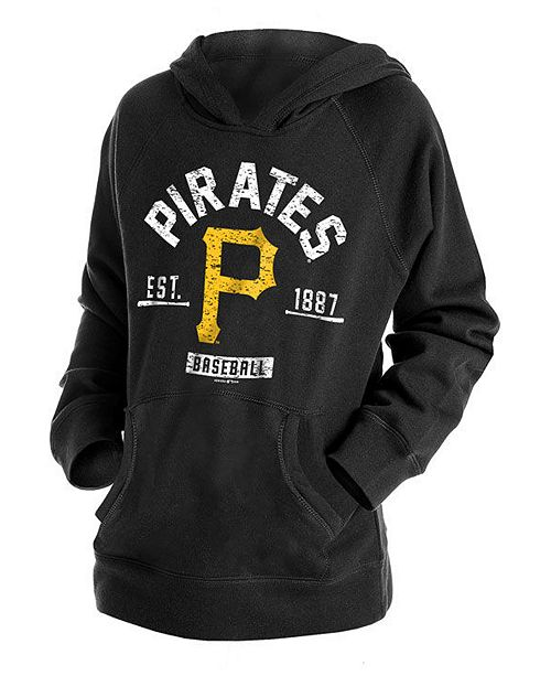 New Era Big Boys Pittsburgh Pirates Fleece Pullover Hoodie