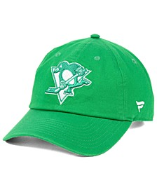 Pittsburgh Penguins St. Patrick's Day Fundamental Strapback Cap