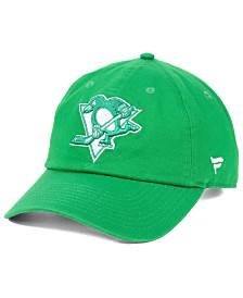 Authentic NHL Headwear Pittsburgh Penguins St. Patrick's Day Fundamental Strapback Cap