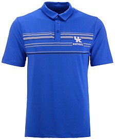 Top of the World Men's Kentucky Wildcats Poly Performance Striped Polo