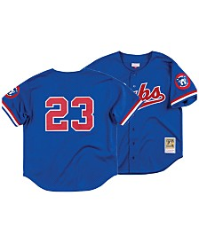 Mitchell & Ness Men's Ryne Sandberg Chicago Cubs Authentic Mesh Batting Practice V-Neck Jersey