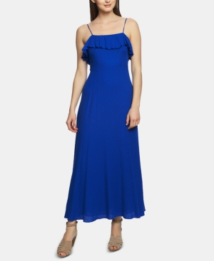 1.state Dresses RUFFLE-TRIM MAXI DRESS