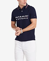 c2e3dade Tommy Hilfiger Men's Lance Custom-Fit Logo Polo