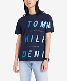 Tommy Hilfiger Denim Men's Nickerson Logo Graphic T-Shirt