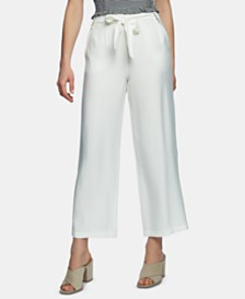 1.STATE Tie-Waist Wide-Leg Pants