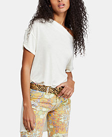 Free People Take it Easy Off-The-Shoulder Top