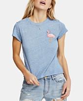 353015382cb38 Free People Beachy Keen Flamingo-Graphic T-Shirt