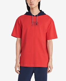 Tommy Hilfiger Denim Men's Lucas Short Sleeve Hoodie