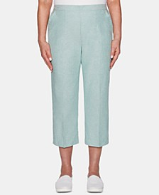Monterey Pull-On Cropped Pants