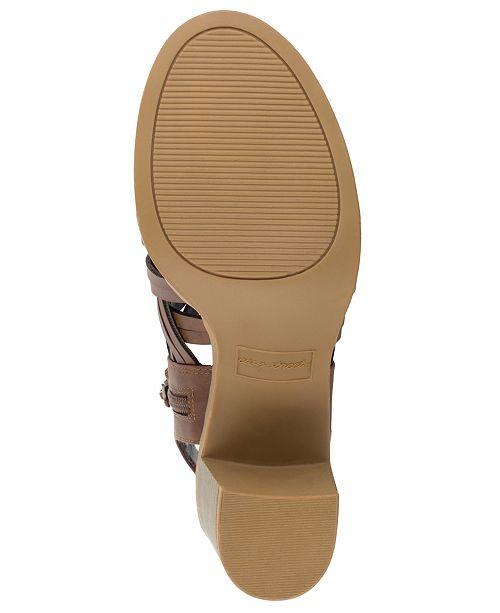 376ef4b36 Easy Street Angel Block Heeled Sandals & Reviews - Ladies Shoes ...