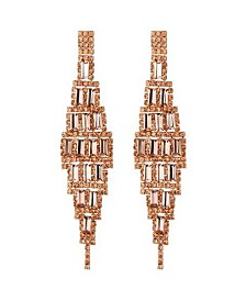 Nicole Miller Diamond Shaped Chandelier Earring