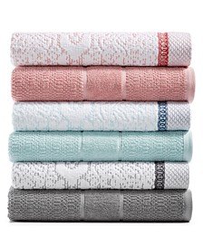 Sonata and Damask Mix and Match Bath Towel Collection