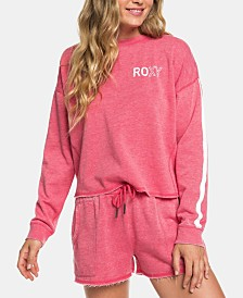 Roxy Juniors' Dream Believer Cropped Sweatshirt