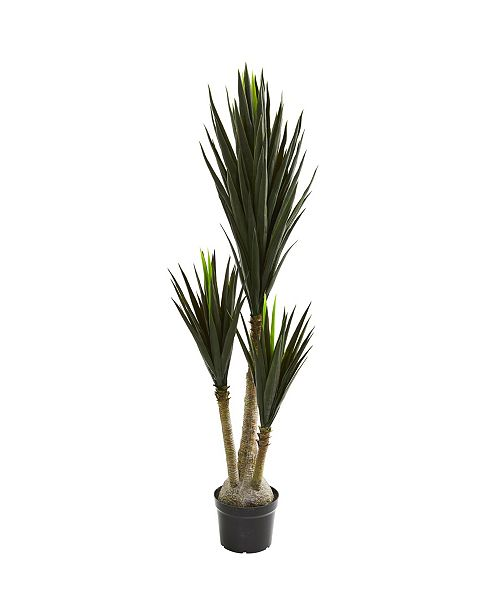 "Nearly Natural 65"" Yucca Artificial Plant"