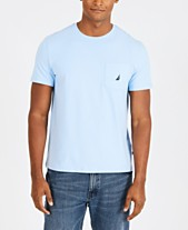 8347be0cecf Nautica Men s Solid Stretch Anchor T-Shirt