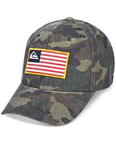 outlet store sale 058a8 ef2e7 Quiksilver Men s Grounded Camouflage Snapback Hat