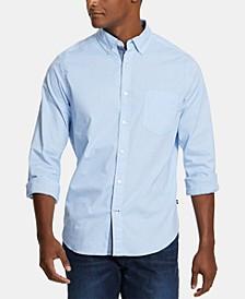 Men's Classic-Fit Stretch Button-Down Shirt