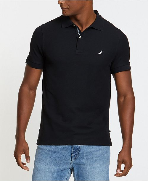 Nautica Men's Slim-Fit Performance Deck Polo