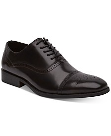 Unlisted by Kenneth Cole Men's Half Time Cap-Toe Oxfords